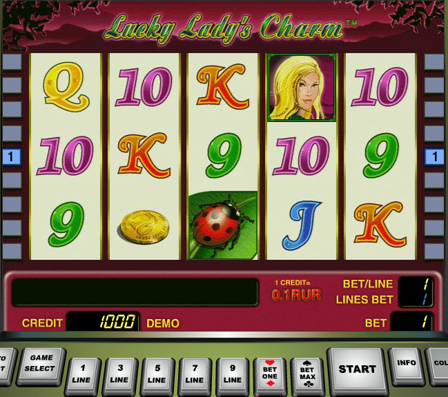 free online casino games lady charm
